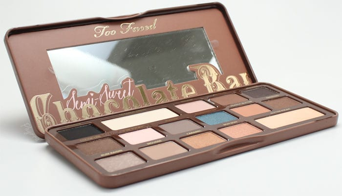 Too Faced Semi Sweet Chocolate Bar Palette Review Swatches Video Comparison