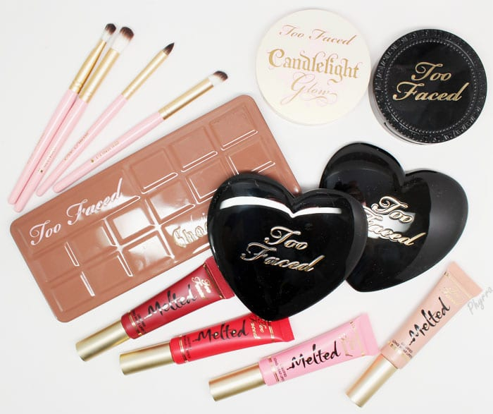 Too Faced Semi-Sweet Chocolate Bar and Spring 2015 Review