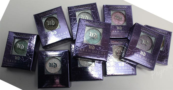 Urban Decay Moondust Eyeshadows