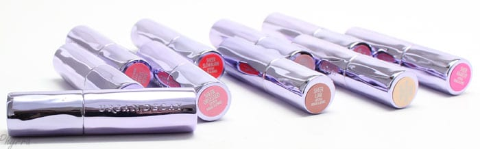 Urban Decay Sheer Revolution Lipsticks