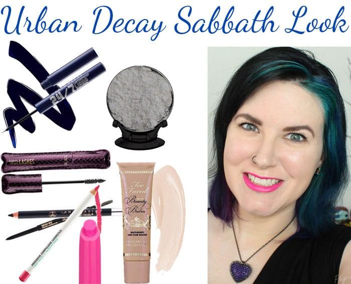 Urban Decay Sabbath Look
