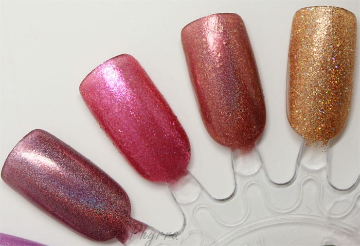 Literary Lacquers Catherine - The Ruby Thief - Porco Rosso - I Heard the Bells