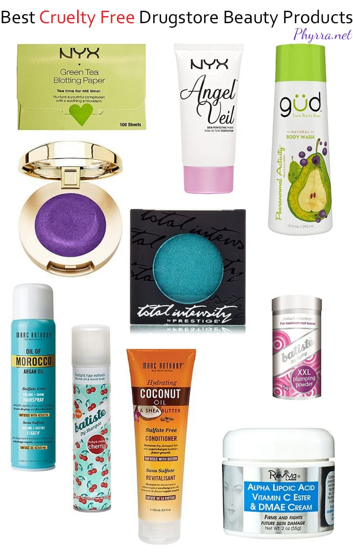 10 Best Cruelty Free Drugstore Beauty Products
