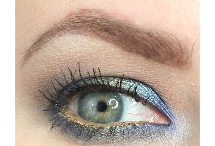 Makeup Geek and Darling Girl Blue Green Eyeshadow Cruelty-Free Tutorial