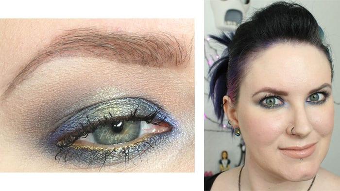 Makeup Geek Blue Green Foiled Cruelty-Free Tutorial