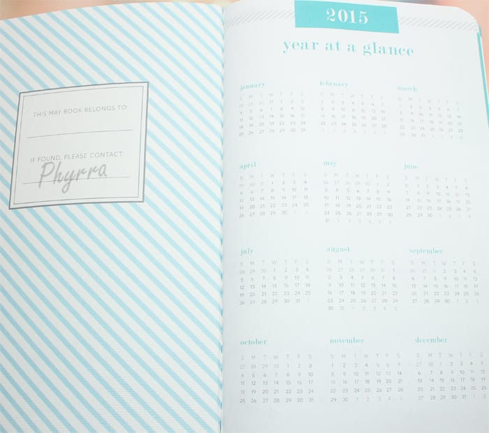 May Designs Life Planner