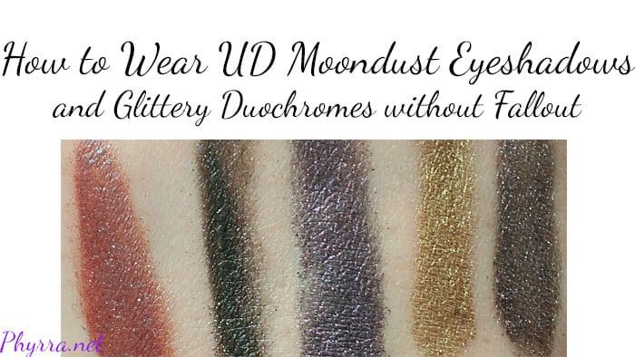 How to Wear Urban Decay Moondust Eyeshadows