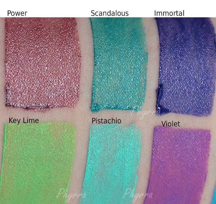 Nyx Lipsticks
