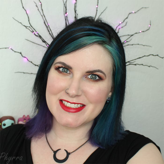 Valentine's Day Tutorial featuring Melt Cosmetics, Darling Girl and OCC Makeup