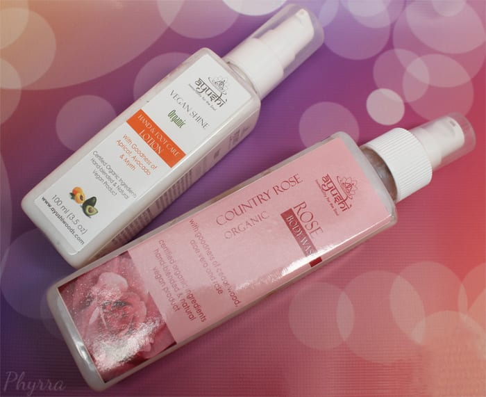 Ayushi Body Wash and Lotion - Phyrra.net