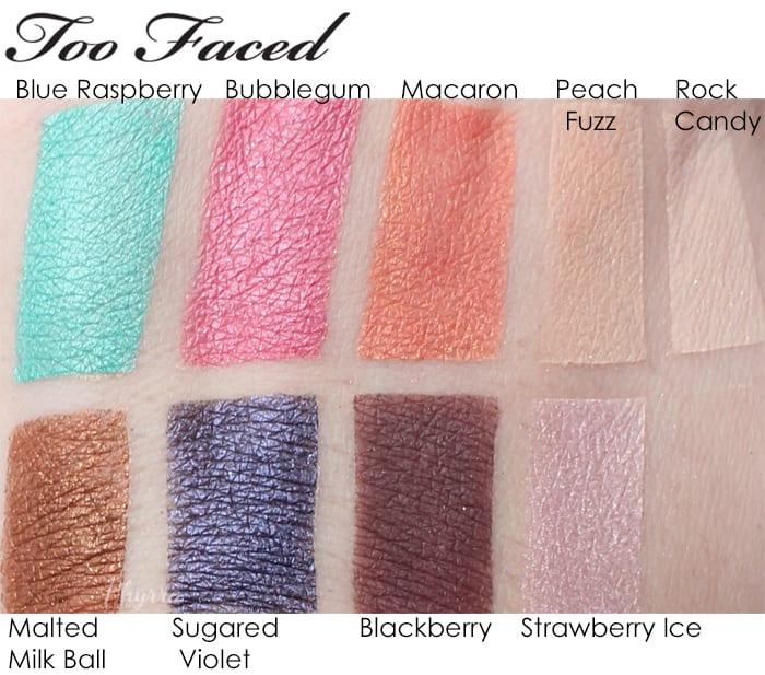 Too Faced Summer 2015 Cruelty Free Sugar Pop Eyeshadow Palette