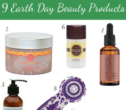 9 Earth Day Beauty Products