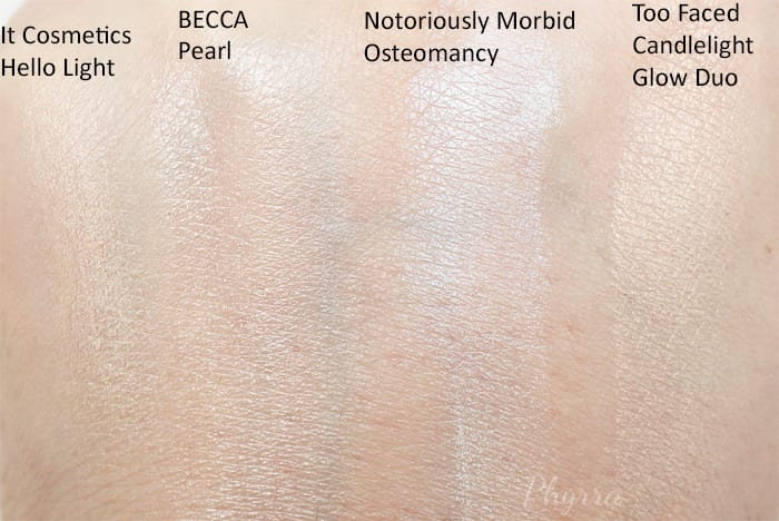 Cruelty Free Highlighters for Pale Skin - Phyrra.net