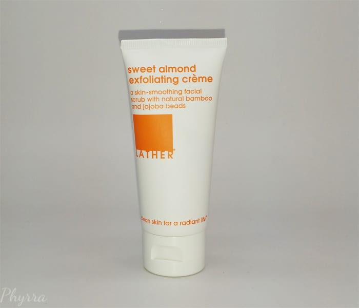 Lather Sweet Almond Exfoliating Creme Review