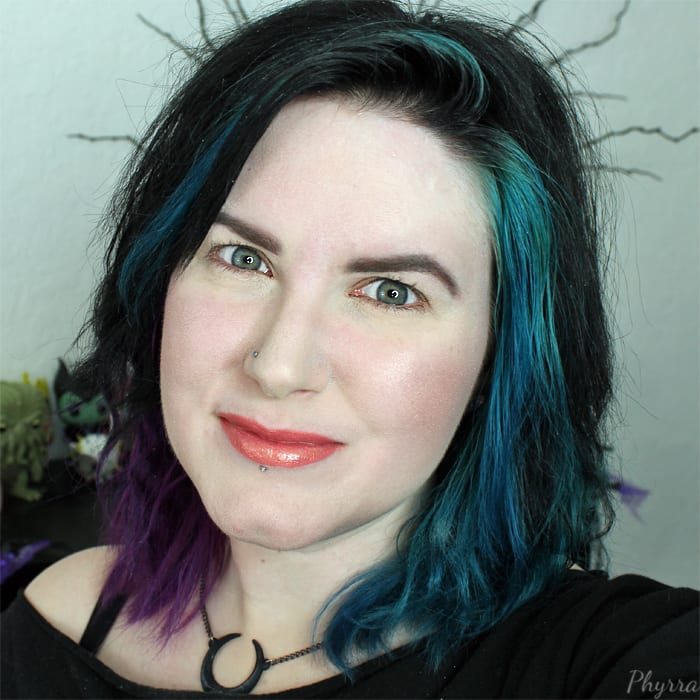 Purple and Teal Blue Hair