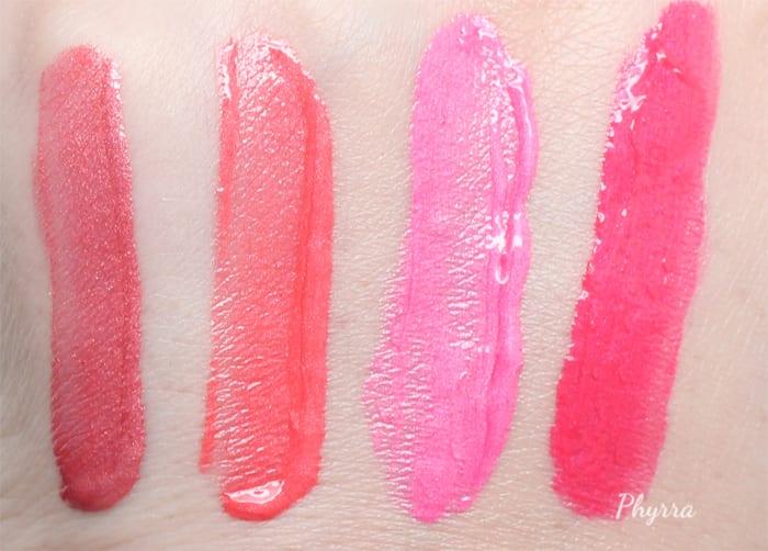 Too Faced Melted Metal Lipsticks Peony - Tu-Tu - Bunny - Macaron