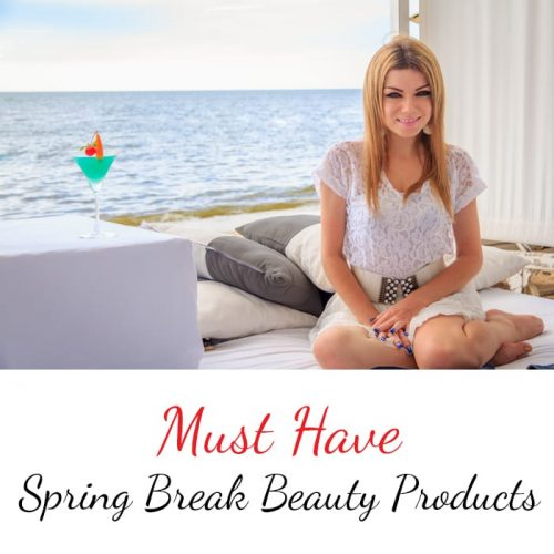 10 Spring Break Beauty Products