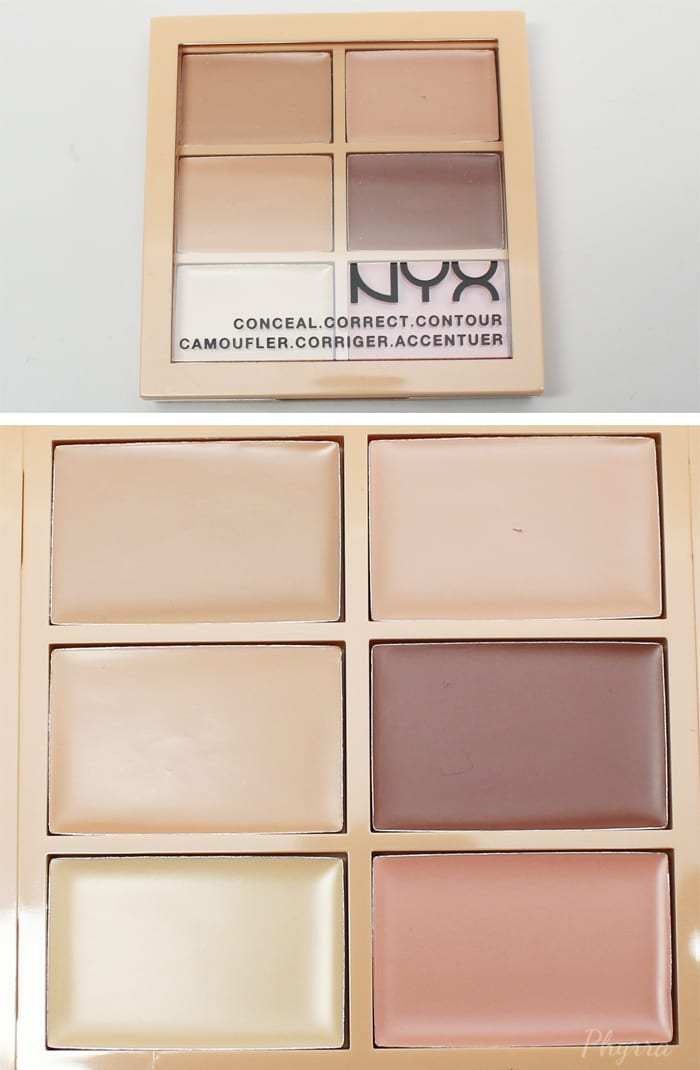 Nyx Conceal Correct Contour Cream Palette Light - Phyrra.net