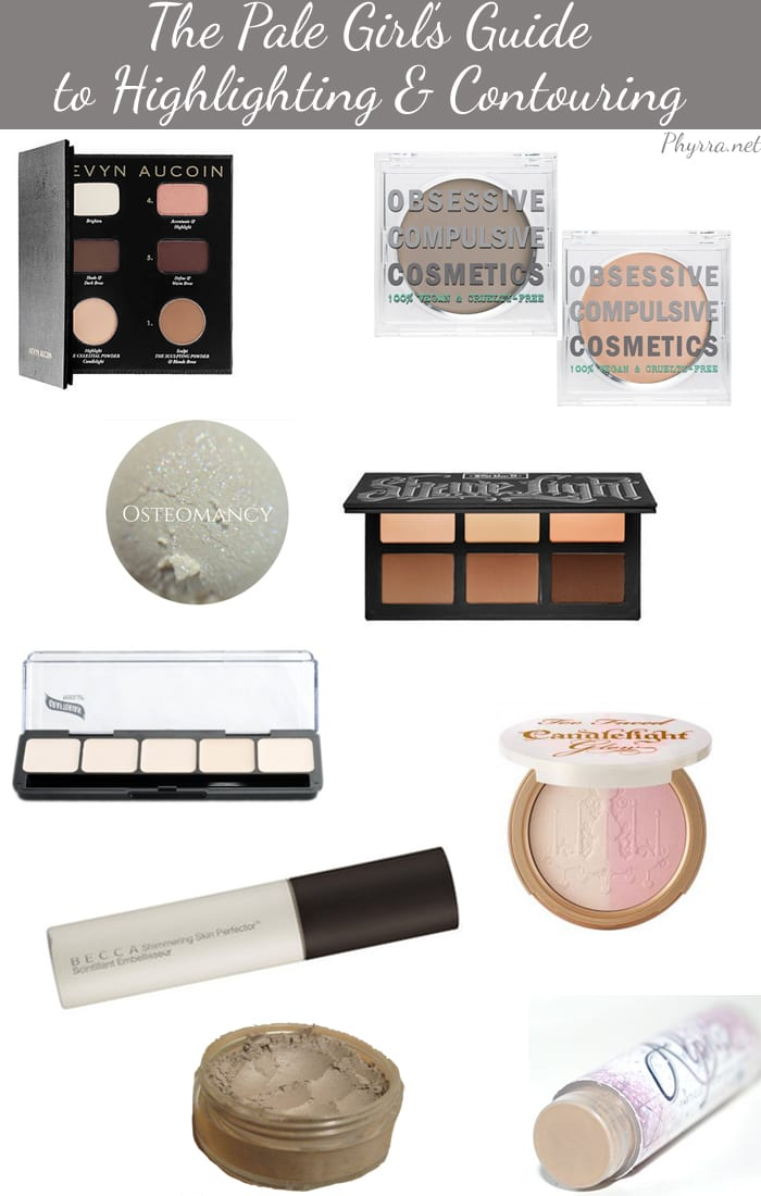 The Pale Girl's Guide to Highlighting and Contouring - Phyrra.net
