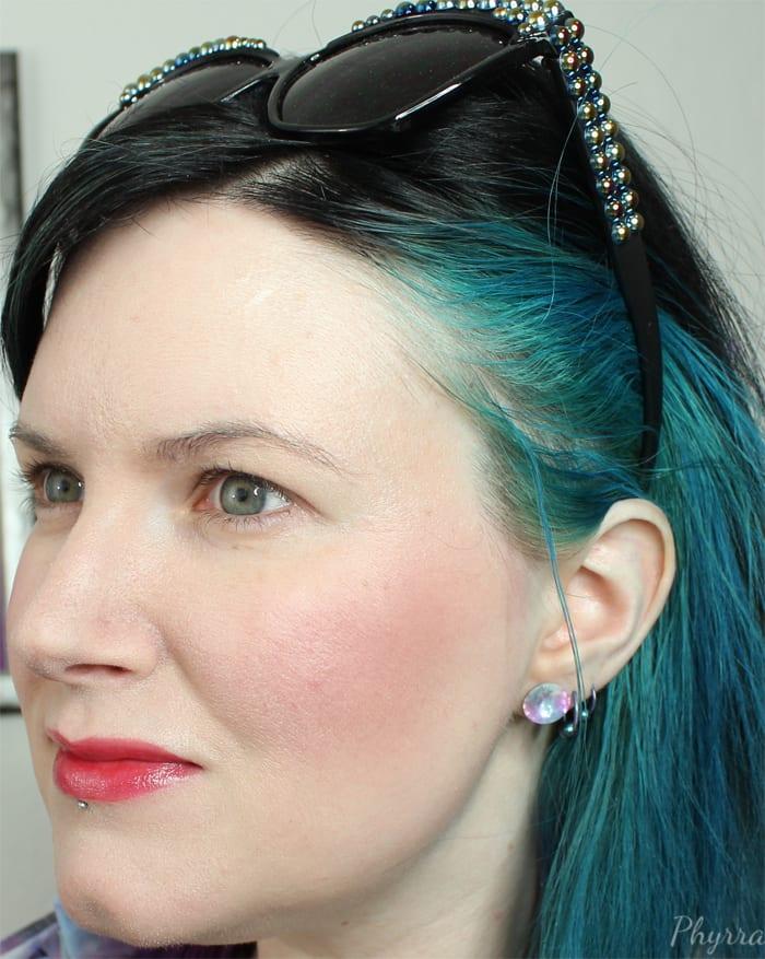 Wearing Afterglow Blush Rapture