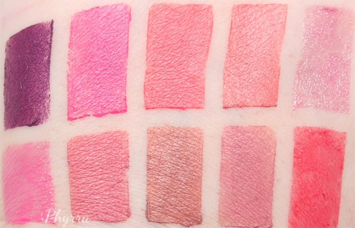 Silk Naturals Spring 2015 Collection Swatches and Review