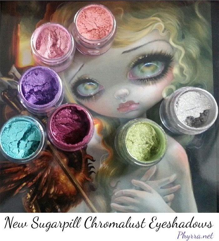 Sugarpill Spring 2015 Eyeshadows Review