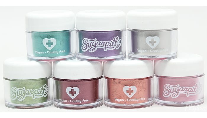 Sugarpill Chromalust Loose Eyeshadows