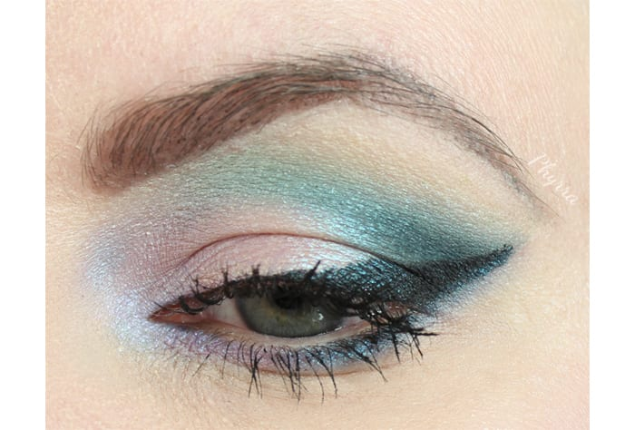 Lilac and Teal Tutorial