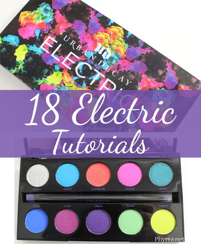 18 Urban Decay Electric Palette Tutorials