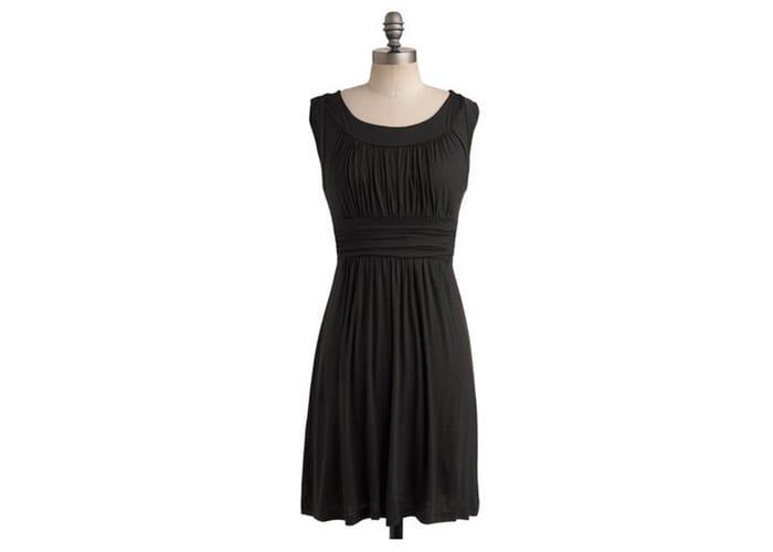 Modcloth Versatile I Love Your Dress in Black
