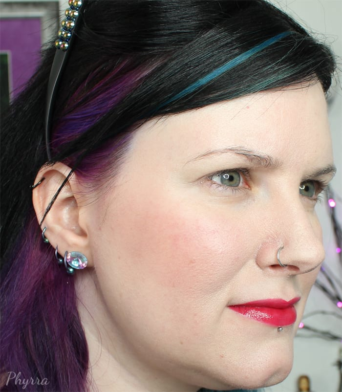 Wearing Afterglow Blush Video