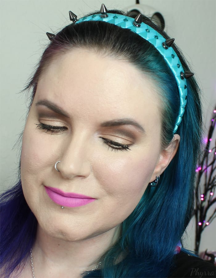 Wearing Anastasia Beverly Hills Unicorn