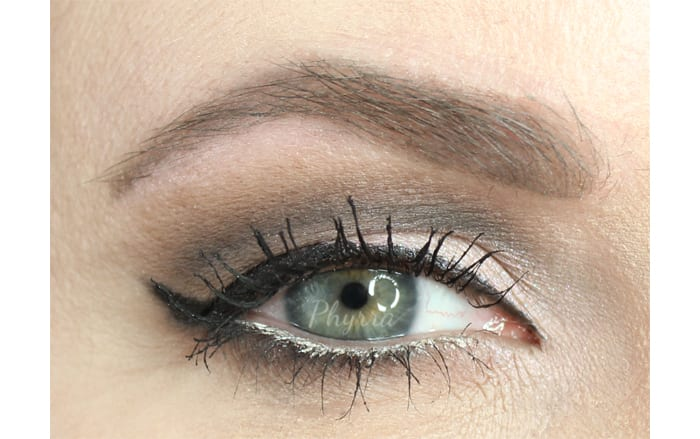 Wearing the Kat Von D Cool Quad on Hooded Eyes
