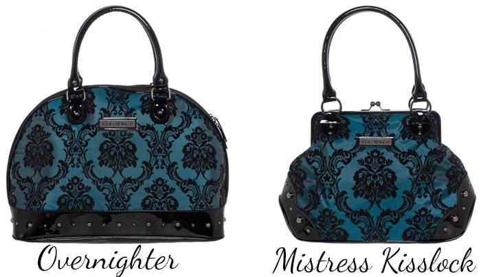 GG Rose Overnighter and Mistress Kisslock Handbags