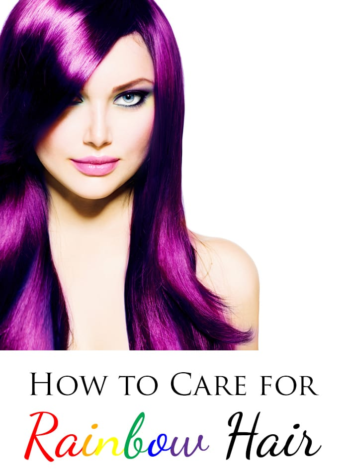 How To Care For Rainbow Hair Extend The Life Of Your Color