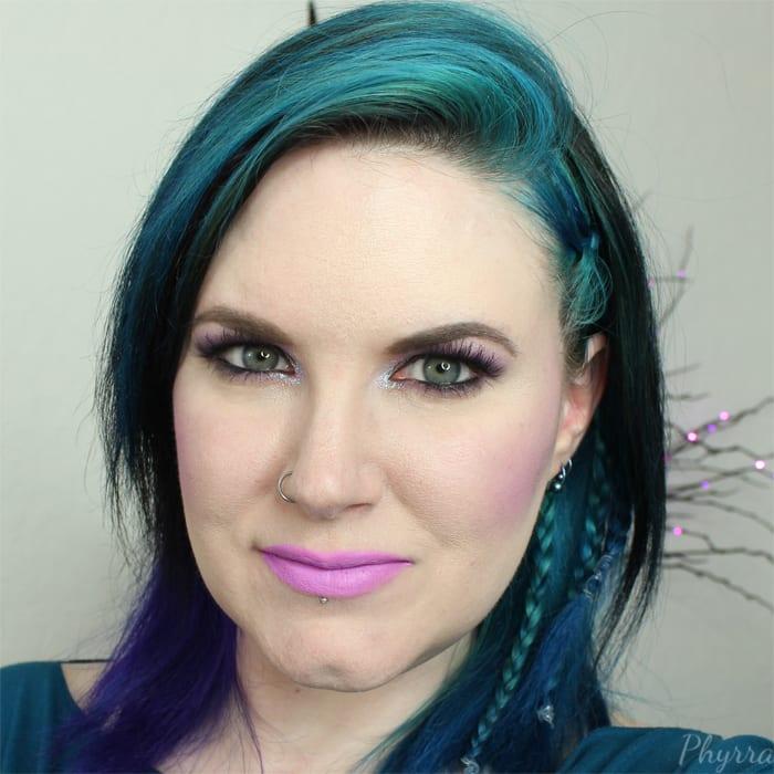 Wearing Ofra Cosmetics Long Wearing Liquid Lipstick in Las Vegas