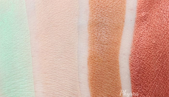 Makeup Geek Summer 2015 Eyeshadows Review and Swatches - Phyrra.net