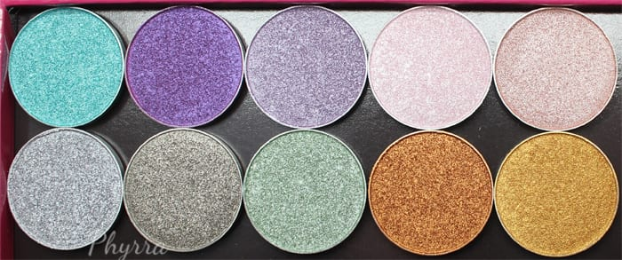Makeup Geek Spring 2015 Foiled Eyeshadows Review Swatches Video - Phyrra.net