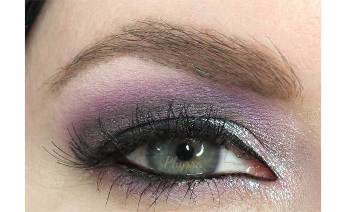 Dramatic Purple Eyeshadow Look