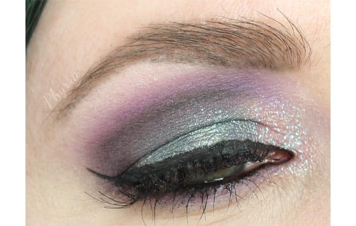 Dramatic Purple Fyrinnae Look