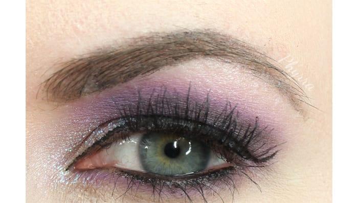 Dramatic Purple Makeup Geek Look