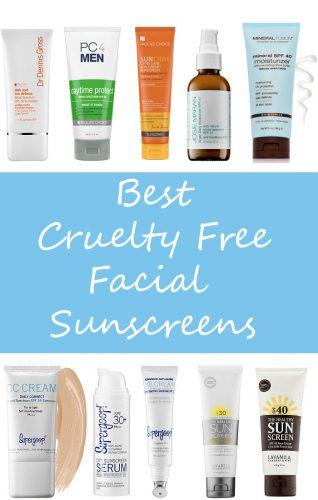 Top 10 Cruelty Free Facial Sunscreens