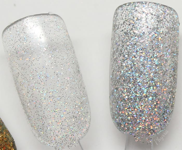 KBShimmer Dust in the Bottle and Alloy Matey!