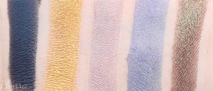 Fyrinnae Summer Eyeshadows Swatches and Review