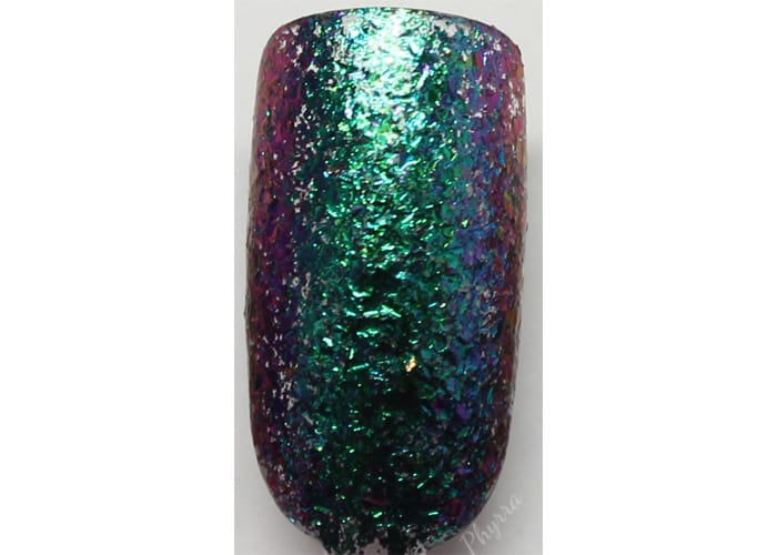 KBShimmer Look on the Night Side swatch