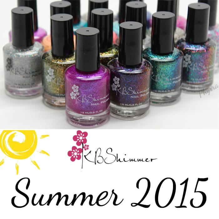 KBShimmer Summer 2015 Review Swatches - Phyrra.net