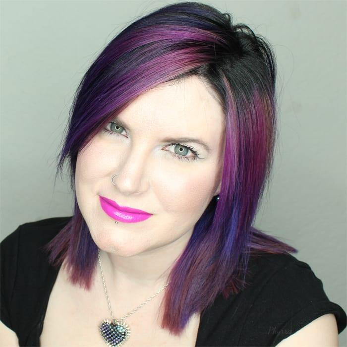 Purple Pravana Hair