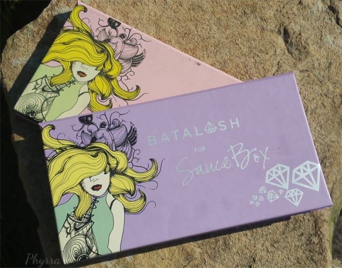Quick Comparison Between Saucebox Batalash and Etude Palettes