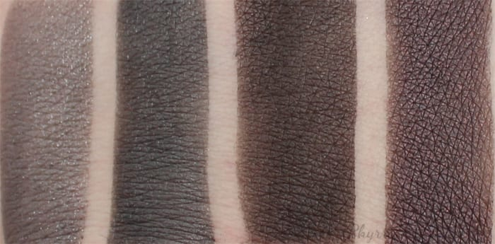 Urban Decay Naked Smoky Palette Swatches and Thoughts