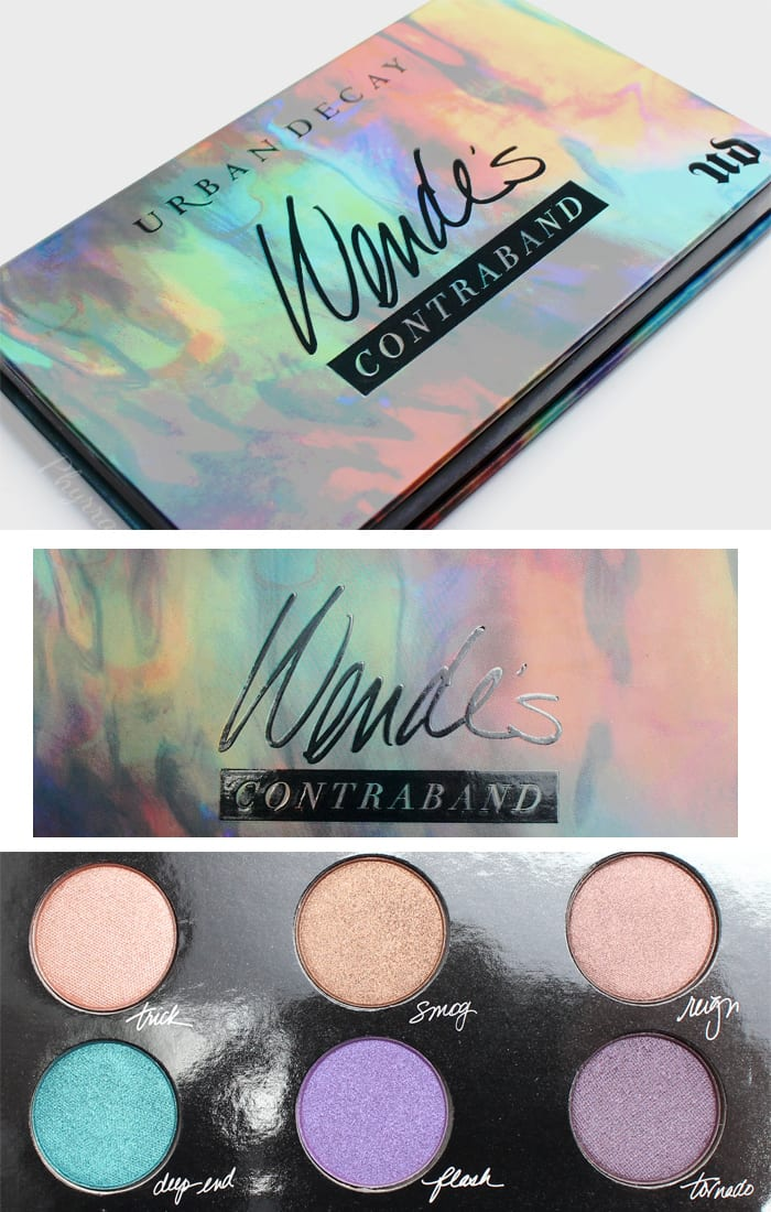 Urban Decay Wende's Contraband Palette Review Swatches Video